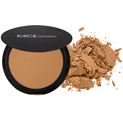 FACE atelier Ultra Pressed Powder - Dark, 7.5g/0.3 oz