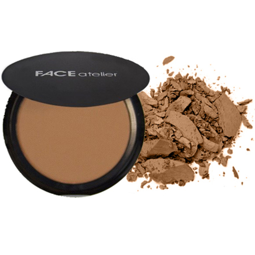 FACE atelier Ultra Pressed Powder - Darker, 7.5g/0.3 oz