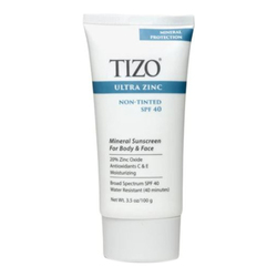 Ultra Zinc Mineral Sunscreen SPF 40 - Non-Tinted