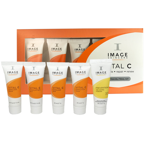 Vital C Travel Trial Kit Image Skincare Eskincarestore