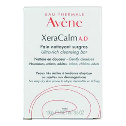 Avene XeraCalm A.D Ultra-Rich Cleansing Bar, 100g/3.5 oz