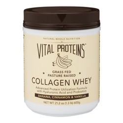 Vital Proteins Collagen Whey - Banana, Cinnamon, 600g/21.2 oz