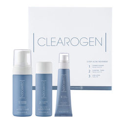 Clearogen 3 Step Acne Treatment Set - 2 Month Supply, 1 set