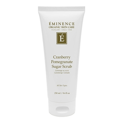 Eminence Organics Cranberry Pomegranate Sugar Scrub, 250ml/8.4 fl oz