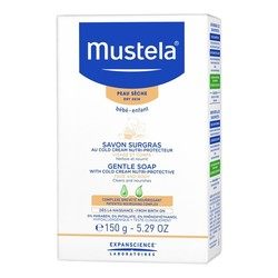 Mustela Gentle Soap with Cold Cream Nutri-protective, 150g/5.3 oz