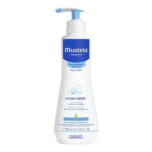 Mustela Hydra Bebe Body Lotion, 300ml/10.1 fl oz