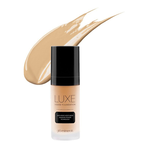 gloMinerals Luxe Liquid Foundation - Tahini, 30ml/1 fl oz