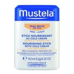 Mustela Hydra-Stick with Cold Cream Nutri-Protective, 9.2g/0.3 oz