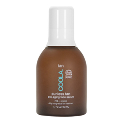 Organic Sunless Tan Anti-Aging Face Serum