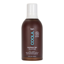Coola Organic Sunless Tan Dry Oil Mist, 100ml/3.4 fl oz