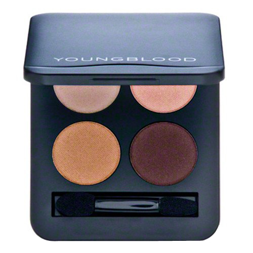 Youngblood Pressed Mineral Eyeshadow Quad - Eternity, 4g/0.14 oz