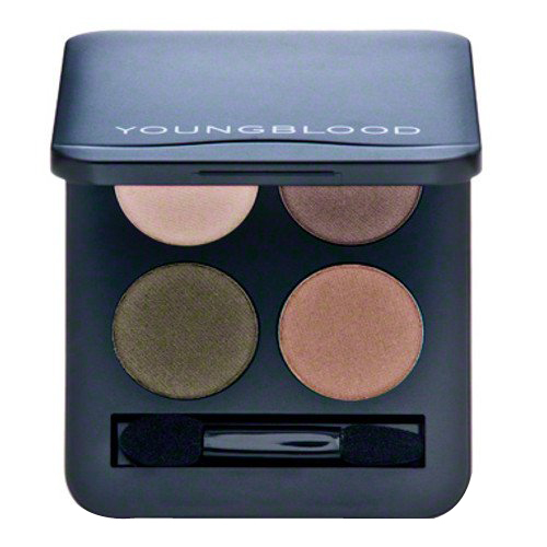 Youngblood Pressed Mineral Eyeshadow Quad - Gemstones, 4g/0.14 oz