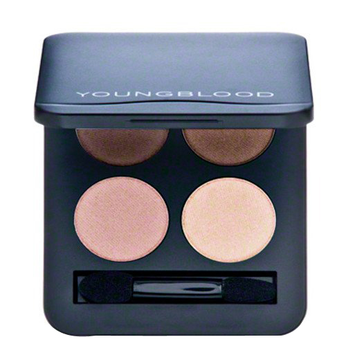 Youngblood Pressed Mineral Eyeshadow Quad - Shanghai Nights, 4g/0.14 oz