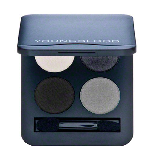 Youngblood Pressed Mineral Eyeshadow Quad - Starlet, 4g/0.14 oz