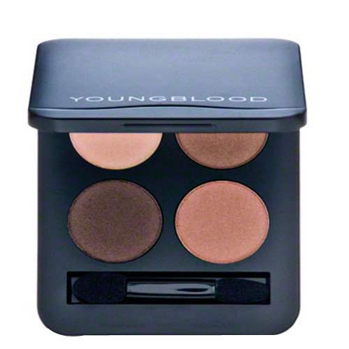 Youngblood Pressed Mineral Eyeshadow Quad - Timeless, 4g/0.14 oz