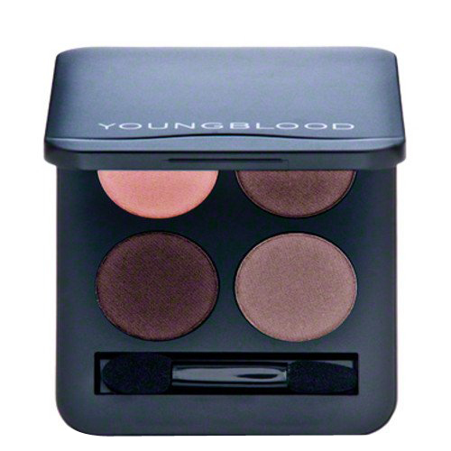 Youngblood Pressed Mineral Eyeshadow Quad - Vintage, 4g/0.14 oz