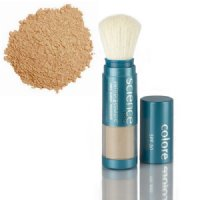 Colorescience Sunforgettable Loose Mineral Sunscreen Brush SPF 30 - Tan (Almost Clear) SHIMMER, 9.07g/0.23 oz