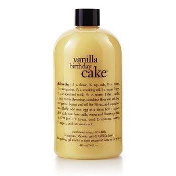 Philosophy Vanilla Birthday Cake Bath Gel 473ml 16 Oz