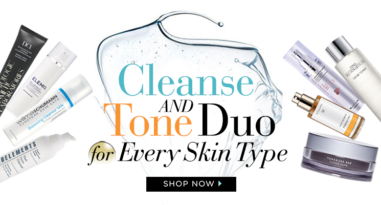 Cleanse and tone duo