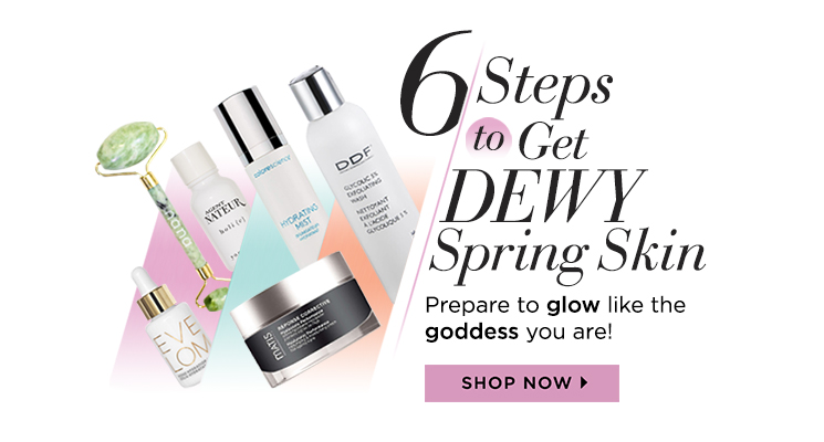Look dewy and fresh with just a few products